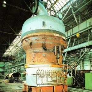 Wärmetauscher hinter NH3 - Verbrennung